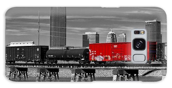 The Red Box Car Galaxy Case by Doug Long