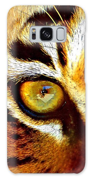 Tigers Eye Galaxy Case by Marlo Horne