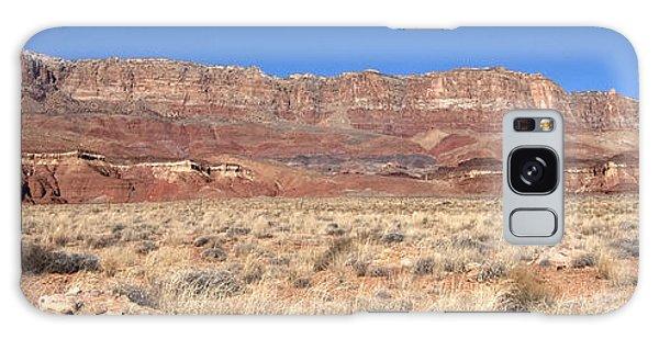 Vermillion Cliffs Panorama Galaxy Case by Bob and Nancy Kendrick