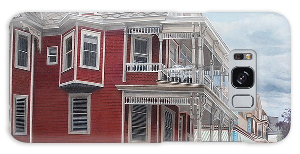 Victorian Afternoon Cape May Galaxy Case