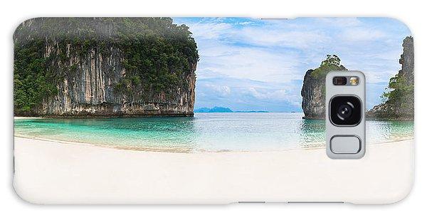 White Sandy Beach In Thailand Galaxy Case