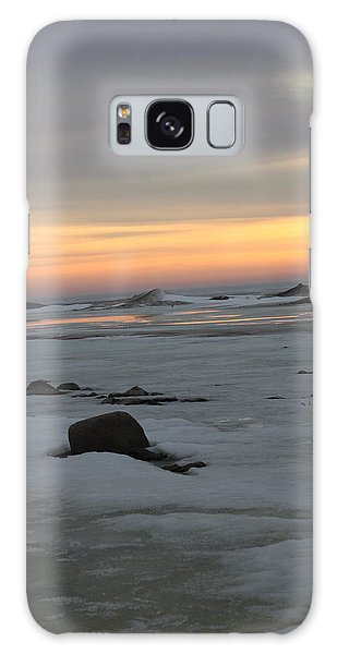 Winter Evening Lights Galaxy Case