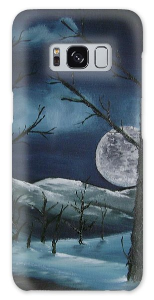 Winter Night Galaxy Case