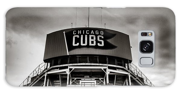 Wrigley Field Bleachers In Black And White Galaxy Case