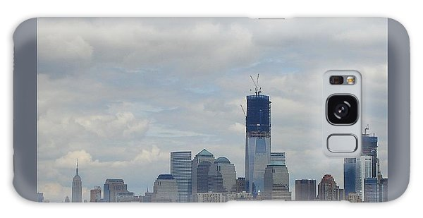 1 Wtc Under Construction Galaxy Case by Patricia Overmoyer