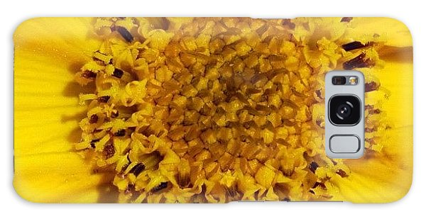 Detail Galaxy Case - Yellow Flower Detail by Matthias Hauser