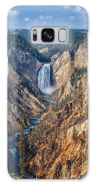 Yellowstone Lower Falls Galaxy Case
