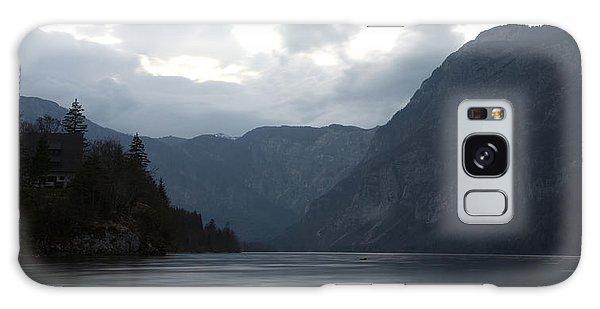 Lake Bohinj At Dusk Galaxy Case