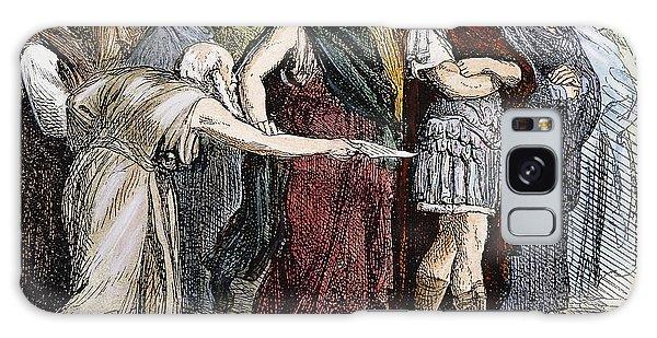 Ides Of March Galaxy Case - Shakespeare: Julius Caesar by Granger