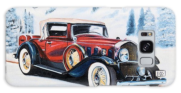1931 La Salle Convertible Coupe Galaxy Case by Cheryl Poland
