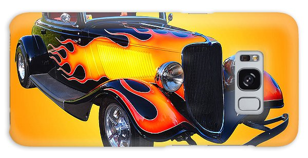 1934 Ford 3 Window Coupe Hotrod Galaxy Case