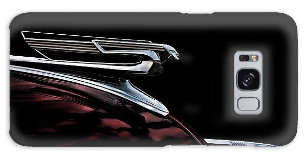 Chrome Galaxy Case - 1940 Chevy Hood Ornament by Douglas Pittman