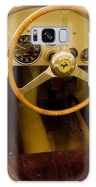 1952 Ferrari 500 625 Cockpit Galaxy Case by John Colley