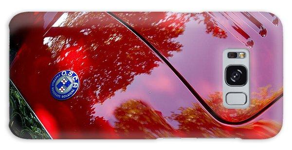 Galaxy Case featuring the photograph 1954 O.s.c.a. Mt4 Maserati Hood Emblem by Jill Reger
