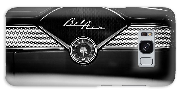 1955 Chevy Bel Air Glow Compartment In Black And White Galaxy Case