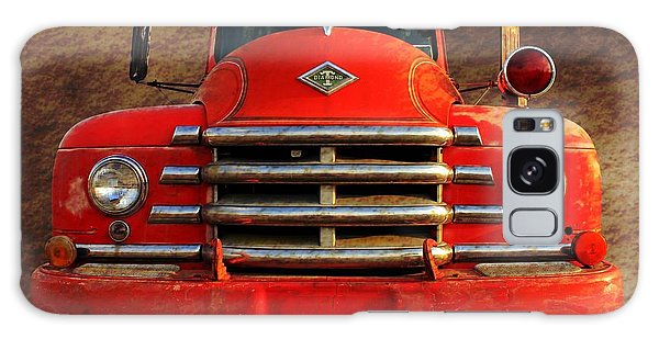 1955 Diamond T Grille - The Cadillac Of Trucks Galaxy Case by Betty Northcutt