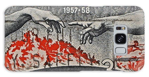 1957-1958 International Geophysical Year Stamp Galaxy Case