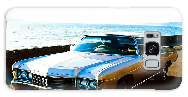 1971 Chevrolet Impala Convertible Galaxy Case by Sadie Reneau