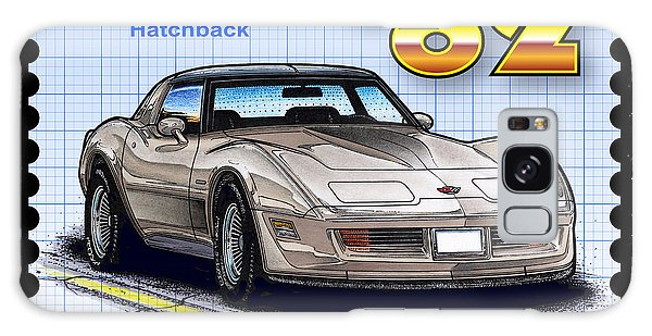 1982 Collector Edition Hatchback Corvette Galaxy Case
