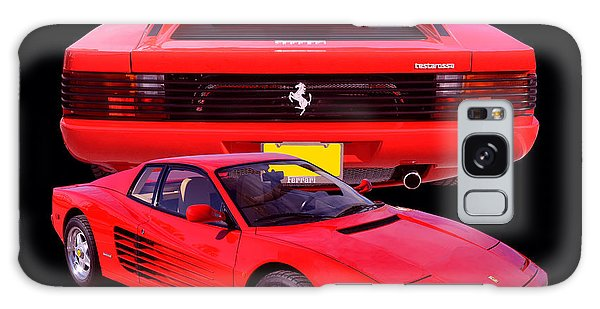 1990 Ferrari Testarossa Galaxy Case by Jim Carrell