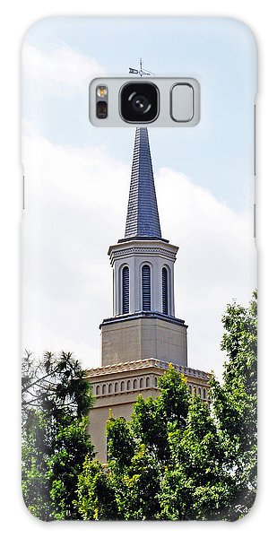 1st Presbyterian Steeple Galaxy Case by Kay Lovingood