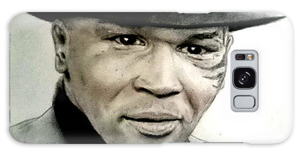 Champion Boxer And Actor Mike Tyson Galaxy Case by Jim Fitzpatrick