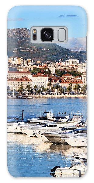 Powerboat Galaxy Case - City Of Split In Croatia by Artur Bogacki