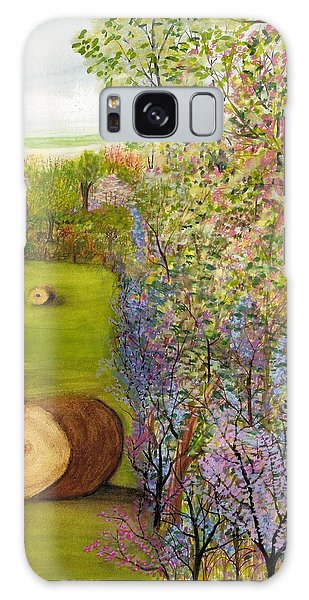 Dogwoods And Redbuds Galaxy Case