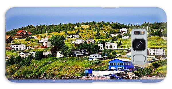 Town Galaxy Case - Fishing Village In Newfoundland by Elena Elisseeva