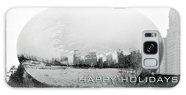 Happy Holidays From Chicago Galaxy Case