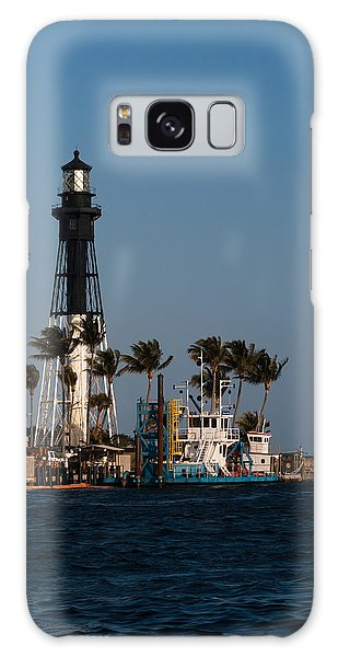 Hillsboro Inlet Lighthouse Galaxy Case