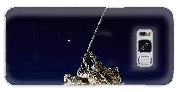 Iwo Jima Memorial At Dusk Galaxy Case