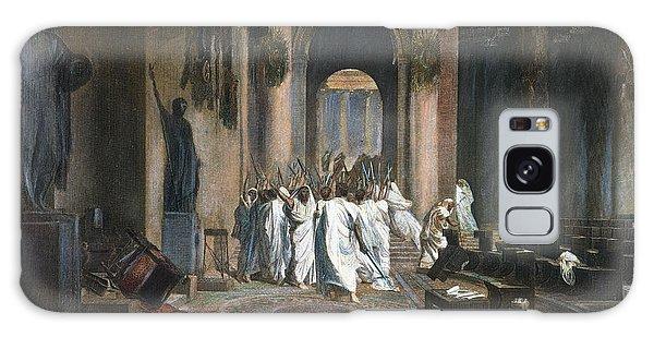 Ides Of March Galaxy Case - Julius Caesar (100 B.c-44 B.c.) by Granger