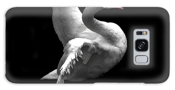 Majestic Swan 2 Galaxy Case