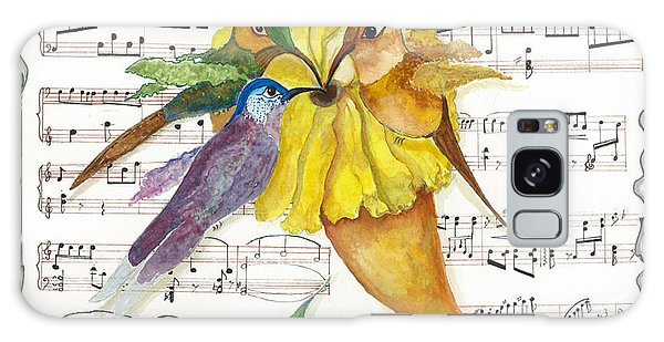 2 Of 2 - Natures Symphony-in Three-part Harmony Galaxy Case