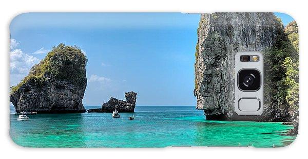 Phi Phi Island Galaxy Case - Phi Phi Island by MotHaiBaPhoto Prints