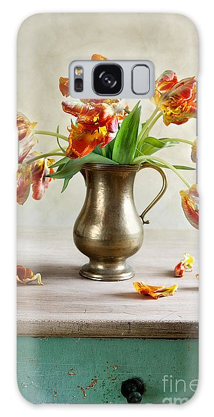 Tulip Galaxy S8 Case - Still Life With Tulips by Nailia Schwarz