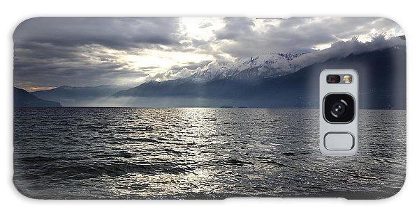 Sunlight Over A Lake Galaxy Case