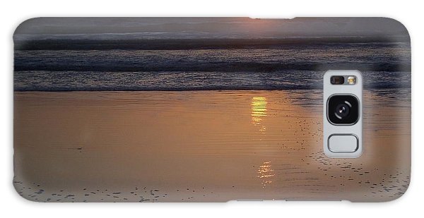 Sunset At Surfside 3 Galaxy Case by Peter Mooyman