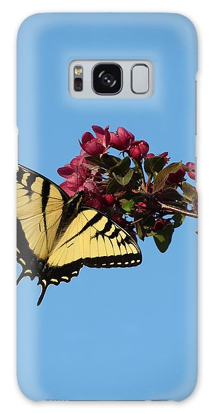 Swallowtail Butterfly Galaxy Case by Rebecca Overton