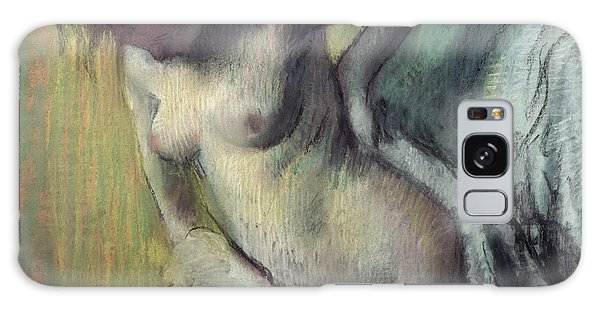 Sitting Nude Galaxy Case - Woman Drying Herself by Edgar Degas