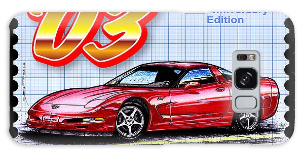 2003 50th Anniversary Edition Corvette Galaxy Case