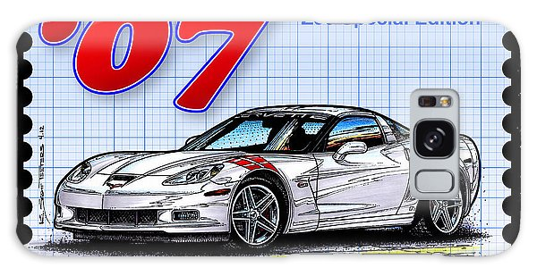 2007 Ron Fellows Z06 Special Edition Corvette Galaxy Case