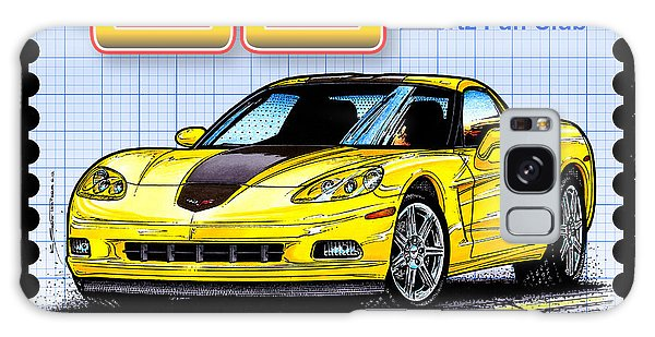 2008 Zhz Hertz Fun Club Corvette Galaxy Case