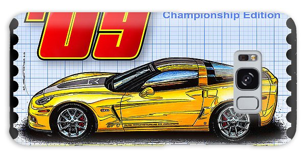 2009 Gt-1 Championship Edition Corvette Galaxy Case