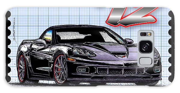 2012 Centennial Edition Zr1 Corvette Galaxy Case