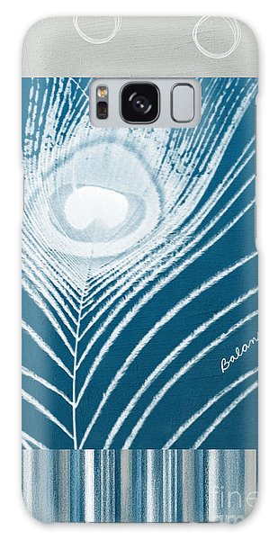 Peacock Galaxy Case - Balance by Linda Woods