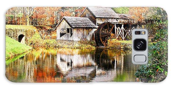 Mabry Mill Galaxy Case by Ronald Lutz