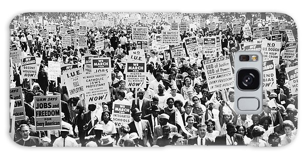 March On Washington Galaxy Case - March On Washington. 1963 by Granger