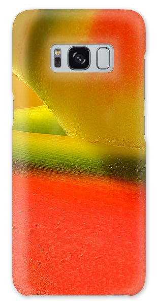 Photograph Of A Lobster Claws Heliconia Galaxy Case